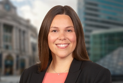 Elizabeth Anderson Joins Rich May's Energy, Renewables & Regulated Industries Group Figure