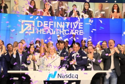 Rich May Client Definitive Healthcare Rings NASDAQ Opening Bell, Launching IPO Figure